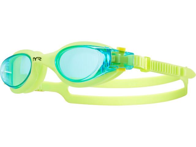 TYR Vesi Okulary pływackie Dzieci, blue/yellow